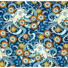 Octopus Garden in Midnight Cotton Fabric by Heather Bailey Fabric Traders