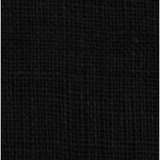 Burlap Jute Fabric in Black