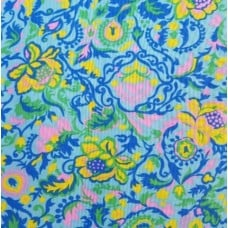 Claire Cotton Fabric in Pink by Jennifer Paganelli