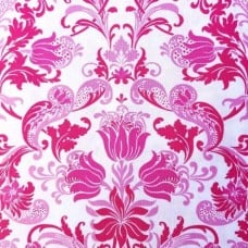 Dawn Cotton Fabric in Pink by Jennifer Paganelli