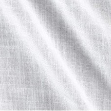 Linen Blend Heavy Weight Fabric in White
