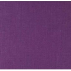 100% Luxe Linen Medium Weight Purple Flower