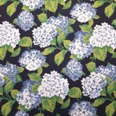 Summer Wind in Navy Cotton Home Decor Fabric by Magnolia Home Fashions