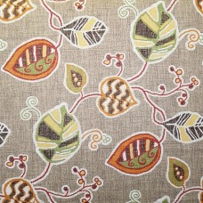 LaLa in Cafe Cotton Home Decor Fabric by Magnolia Home Fashions