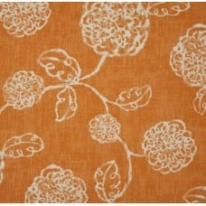 Adelle in Tangerine Home Decorating Cotton Fabric Fabric Traders