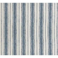 Stripe Bands in Denim Home Decor Cotton Fabric Fabric Traders