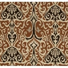 Ikat Winchester in Chocolate Home Decor Cotton Fabric Fabric Traders