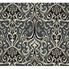 Ikat Winchester in Midnight Home Decor Cotton Fabric