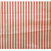 Ticking Stripe Traditional Cotton Fabric Fire Brick and Tan Fabric Traders