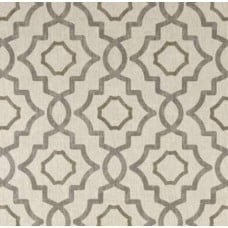 Talbot in Grey Metal Home Decor Cotton Fabric