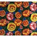 Mexican Oilcloth Laminated Fabric Floral Fabric Traders