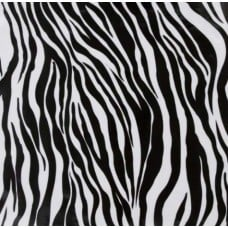 Mexican Oilcloth Laminated Fabric Zebra Stripe