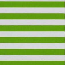 Mexican Oilcloth Laminated Fabric Stripes Green Fabric Traders