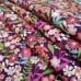 Fresh Flowers Blackberry Cotton Fabric by Michael Miller Fabric Traders