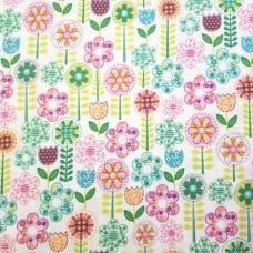 Fantasy Flowers Cotton Fabric by Michael Miller