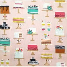 Sweet Cakes in Pink by Michael Miller  Fabric Traders