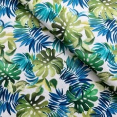 Lost in Paradise Lavish Leaves Cotton Fabric by Michael Miller Fabrics Fabric Traders