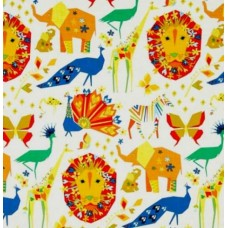 Origami Oasis Pride Candy Cotton Fabric by Michael Miller