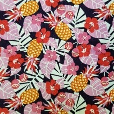 Rumba Tropical Cotton Fabric by Michael Miller