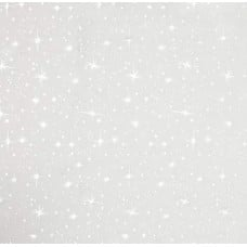 Ice Organza Fabric White