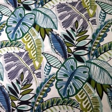 Aruba Lagoon Home Decor Cotton Fabric in Blue Fabric Traders