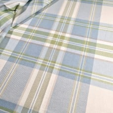 Plaid Kendal in Zephyr Home Decor Cotton Fabric by P Kaufmann Fabric Traders