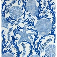 Cove Shells and Starfish Indoor Outdoor Fabric by P Kaufmann