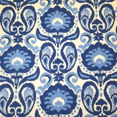 Ikat Grand in Blue Home Decor Fabric