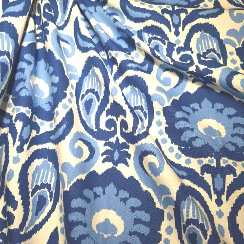 Great ... Ikat Grand In Blue Home Decor Fabric Fabric Traders ...