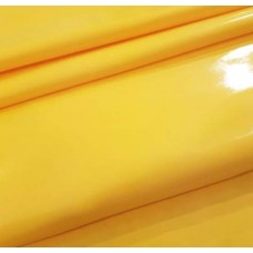 Laminated Gloss Finish Waterproof Fabric in Yellow