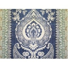Provincial Living in Blue Home Decor Cotton Fabric
