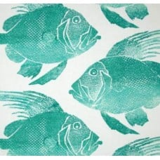 Tropical Fish Indoor Outdoor Fabric by P Kaufmann