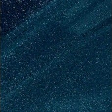 Vinyl Fabric Sparkle in Deep Aqua Blue Fabric Traders