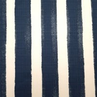 Striped Luxury Indoor Outdoor Fabric in Blue and White