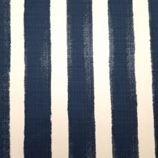 Striped Luxury Indoor Outdoor Fabric in Blue and White Fabric Traders