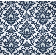 Cecilia Premier Navy and White Home Decor Cotton Fabric