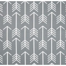 Arrows in White on Cloud Home Decor Cotton Fabric