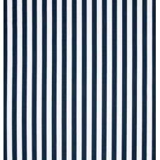 Stripe Standard in Navy Blue Home Decor Cotton Fabric