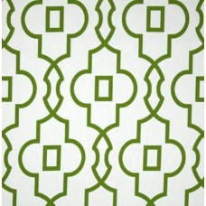 Bordeaux in Green and White Home Decor Cotton Fabric
