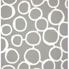 Scribble Freehand in Grey Home Decor Cotton Fabric