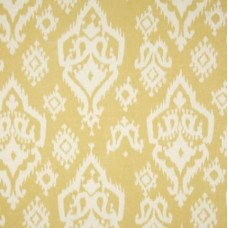 Ikat Home Decor Cotton Fabric in Saffron
