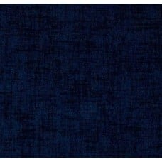 REMNANT - Solid Woven Style Indoor Outdoor Fabric in Oxford Blue