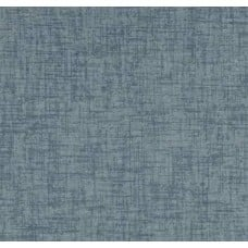 Solid Woven Style Cotton Twill Home Decor Fabric in Vintage Blue