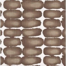 Dots Repeat Cotton Home Decor Cotton Fabric in Brown Fabric Traders