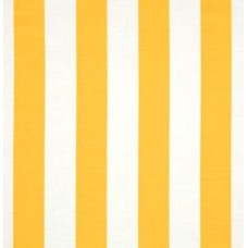 Vertical Stripe in Yellow and White Home Decor Cotton Fabric