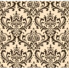 My Home Tradition in Chocolate Home Decor Cotton Fabric - OFFCUT