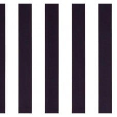 Vertical Stripe in Navy and White Home Decor Cotton Fabric