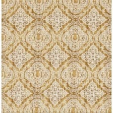 Western Lucky Horse Shoes Cotton Fabric in Cream