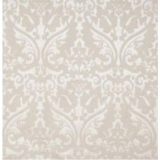 Faux Leatherette Fabric in Damask Pearl