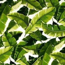 REMNANT - Resort Palm Leaf Outdoor Fabric (Piece: 35cm x 35cm)